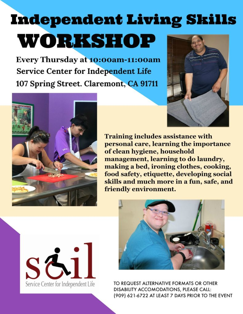 ILS Workshop - Every Thursday at 10 AM Call Janice for more info - (909) 621-6722