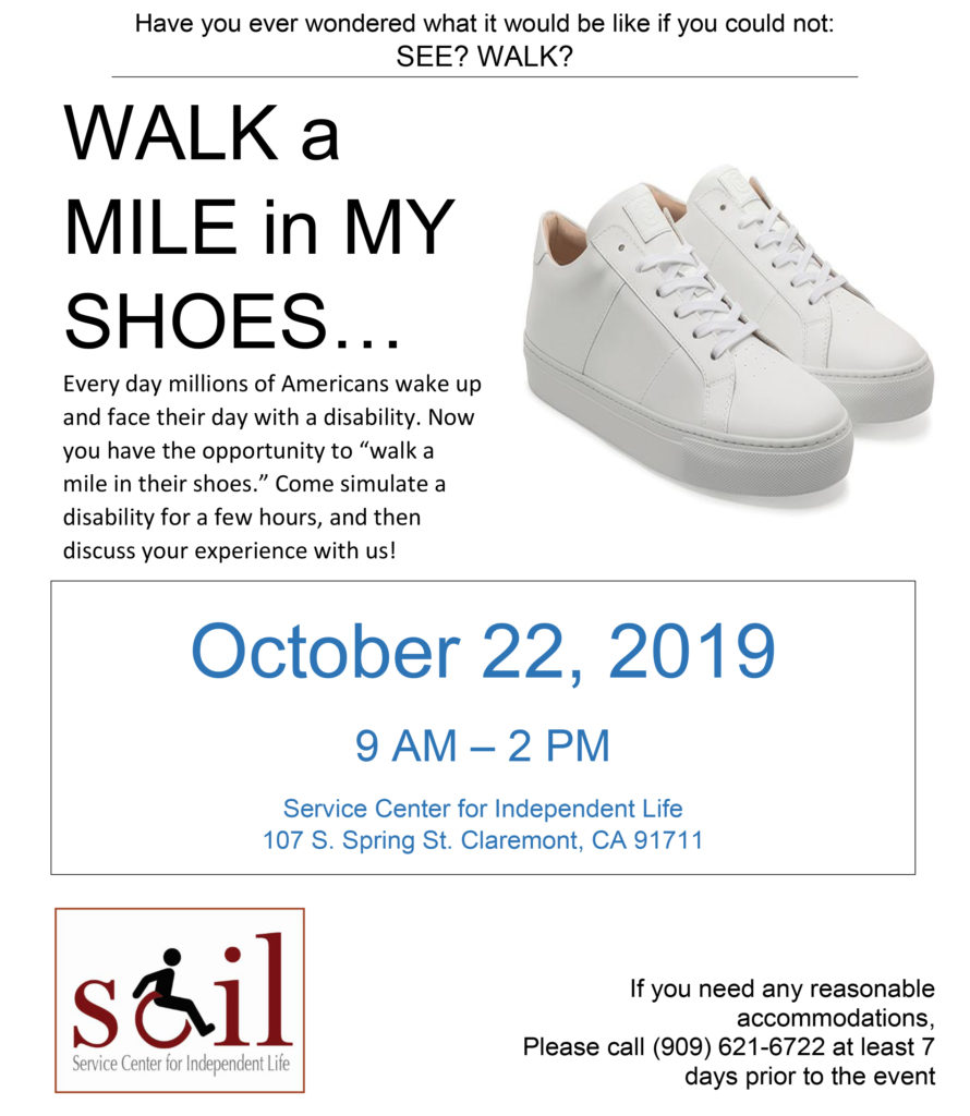 Walk a Mile in My Shoes - October 22nd, 2019 - Call LaKenya for info 9096216722
